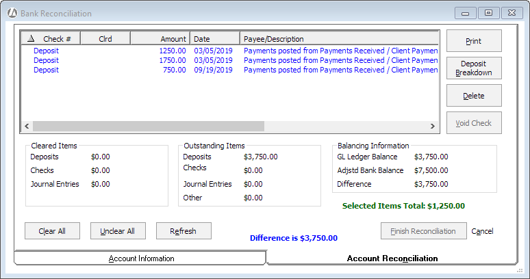 Step 2 Reconcile Your Bank Account – Bank Reconciliation