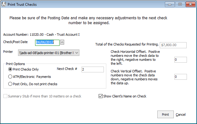 Step 2: Processing Trust Check Requests
